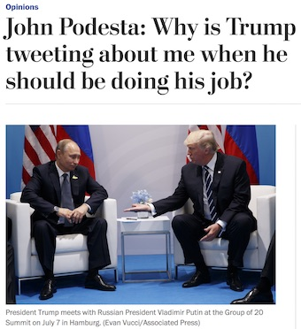Washington Post Op-Ed by John Podesta