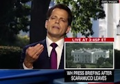 Scaramucci gets tossed