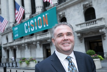 Cision CEO Kevin Akeroyd