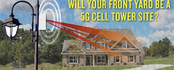 Will Your Front Yard Be A 5G Cell Tower Site?