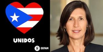 Oxfam Americas Presiden Abby Maxxman