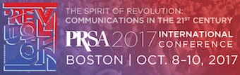 PRSA 2017 Int'l Conference in Boston