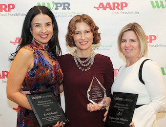 Washington Women in PR Woman of the Year awards luncheon