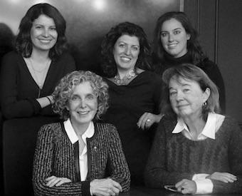 Auritt leadership team pictured clockwise from bottom left: Joan Auritt, Deirdre Reilly, Laurie Doppman, Anna Gartaganis, Roslynn Graves