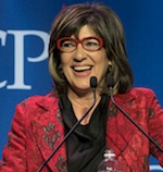 Christine Amanpour at CPJ dinner
