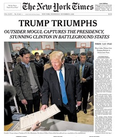 New York Times - Trump Triumphs