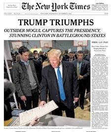 New York Times - Trump Triumphs