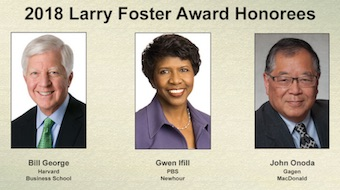 2018 Larry Foster Award Honorees