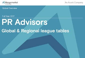 Mergermarket League Tables - PR Advisors