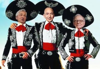 Three Amigos of Healthcare - Bezos, Dimon & Buffett