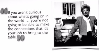 Marilyn Laurie's philosophy of PR