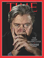 Steve Bannon Time cover