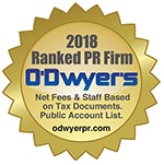2018 O'Dwyer's Rankings of PR Firms