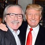 David Pecker and Donald Trump