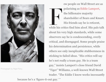 The Devil to Pay from Vanity Fair, April 2018