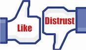 Facebook Like & Distrust