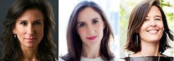 (L to R): Jodi Kantor, Emily Steel & Megan Twohey