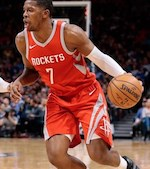 Houston Rockets guard Joe Johnson
