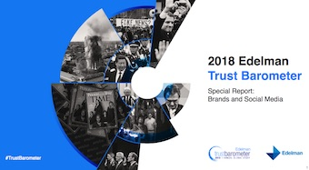 Edelman Trust Barometer Special Report: Brands and Social Media