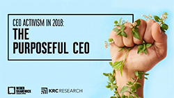 Weber Shandwick - CEO Activism in 2018: The Purposeful CEO