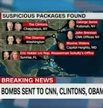 Suspicious packages sent to CNN, Clintons, Obamas