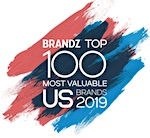 Brandz Top 100 Most Valuable US Brands 2019