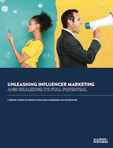 Allison+Partners Study of Marketers & Influencers