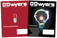 O'Dwyer's Oct. Healthcare & Nov. Technology PR Magazines