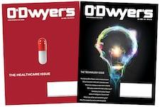 O'Dwyer's Oct. Healthcare & November Technology PR Magazines