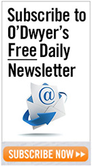 Subscribe to O'Dwyer's Free Daily Newsletter