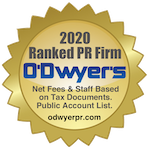 O'Dwyer's 2020 Rankings of PR Firms
