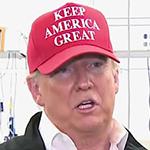 Trump in Hat
