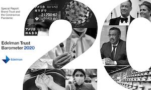 Edelman Trust Barometer - Spring 2020