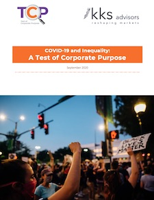 Ford Foundation report: COVID-19 & Inequality - A Test of Corporate Purpose