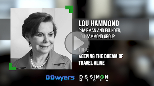 O'Dwyer's/DS Simon Video Interview Series: Lou Hammond, Chairman & Founder, Lou Hammond Group