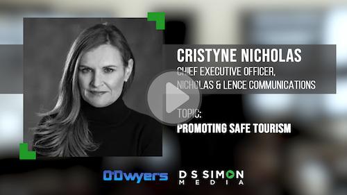 O'Dwyer's/DS Simon Video Interview Series: Cristyne Nicholas, CEO, Nicholas & Lence Communications