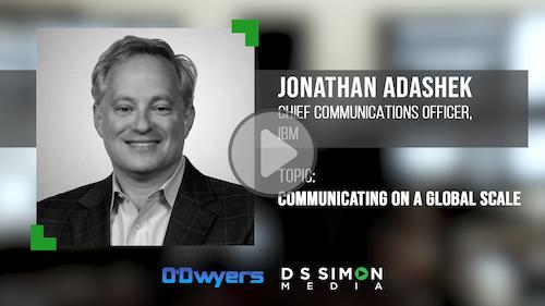 O'Dwyer's/DS Simon Video Interview Series: Jonathan Adashek, CCO, IBM