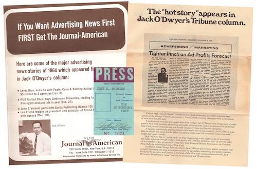Journal American, Tribune, Press Pass