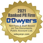 O'Dwyer's Rankings of PR Firms Seal