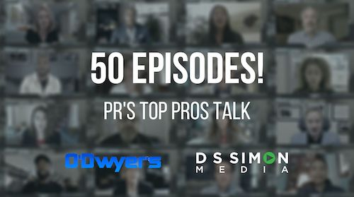 O'Dwyer's/DS Simon Video Interview Series: 50 Episodes!
