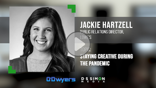 O'Dwyer's/DS Simon Video Interview Series: Jackie Hartzell, PR Director, Lowe's