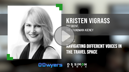 O'Dwyer's/DS Simon Video Interview Series: Kristen Vigrass, President, The Brandman Agency