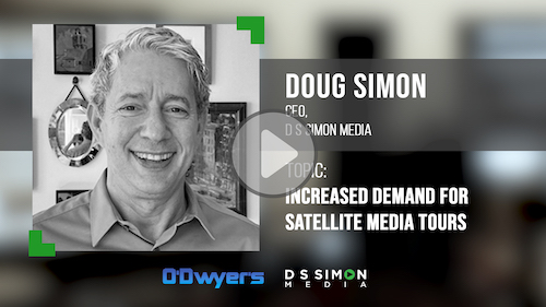 O'Dwyer's/DS Simon Video Interview Series: Doug Simon, CEO, D S Simon Media