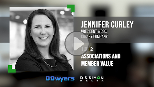 O'Dwyer's/DS Simon Video Interview Series: Jennifer Curley, Pres. & CEO, Curley Company