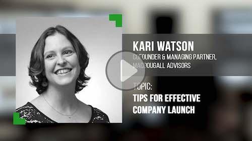 O'Dwyer's/DS Simon Video Interview Series: Kari Watson, Co-Founder & Mng. Partner, MacDougall Advisors