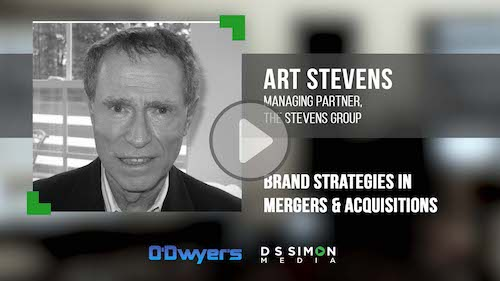 O'Dwyer's/DS Simon Video Interview Series: Art Stevens, Managing Partner, The Stevens Group