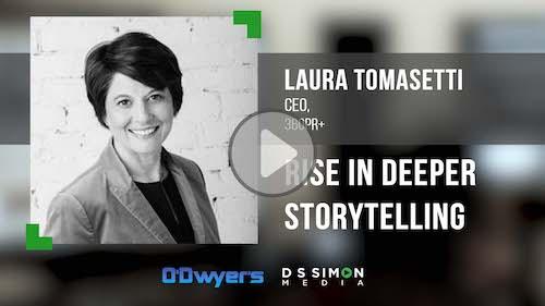 O'Dwyer's/DS Simon Video Interview Series: Laura Tomasetti, CEO, 360pr+