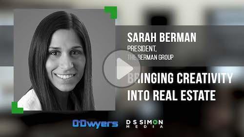 O'Dwyer's/DS Simon Video Interview Series: Sarah Berman, President, The German Group