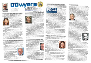 2018 O'Dwyer's Directory of PR Firms
