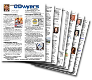 O'Dwyer's PDF Newsletter